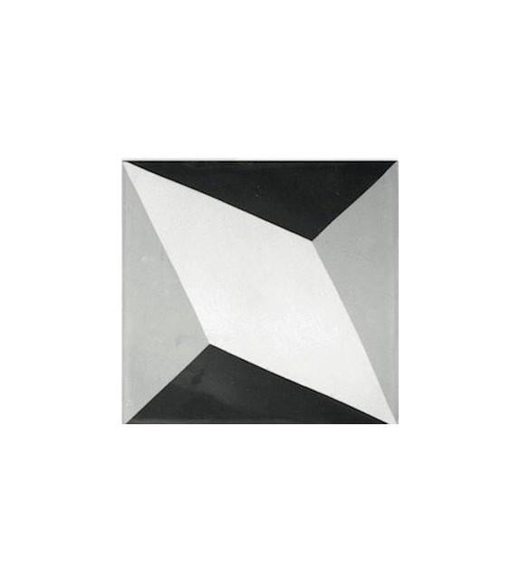 Echantillon carreaux ciment cubes géant 3D