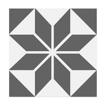 carreaux ciment toile grise tradicim l carreaux ciment de qualit petit prix. Black Bedroom Furniture Sets. Home Design Ideas