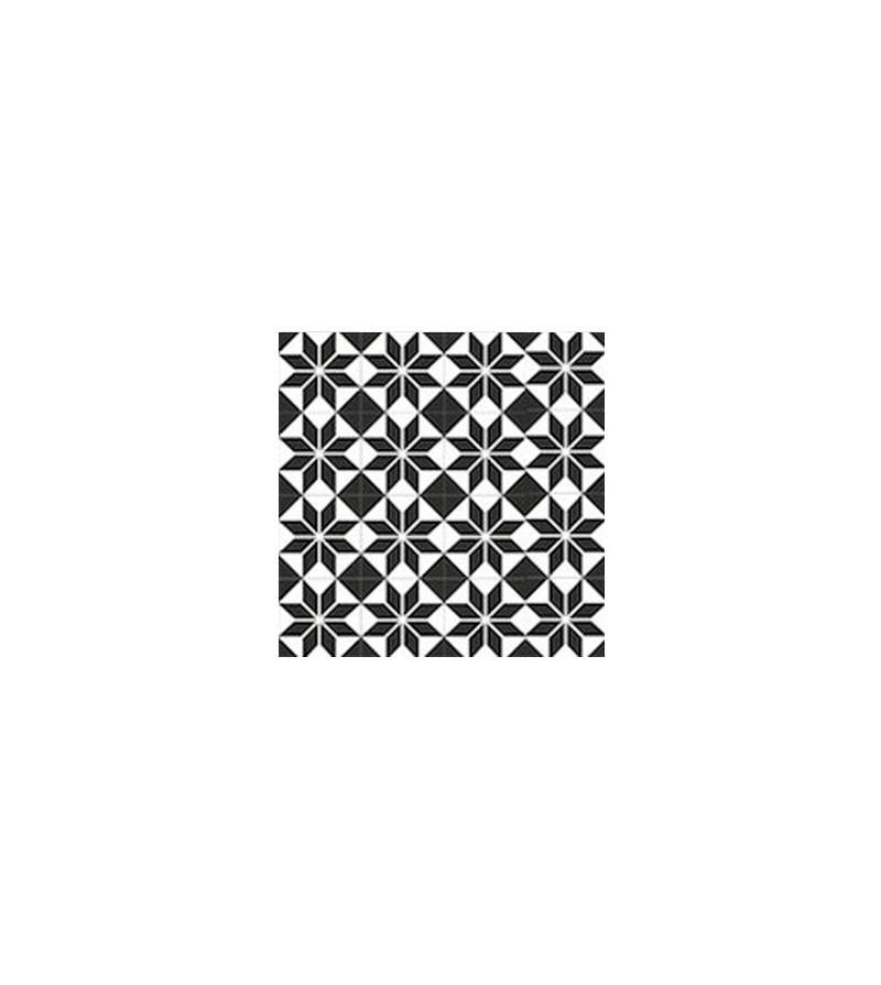 Echantillon carreaux ciment toile noire tradicim l for Carrelage ciment pas cher