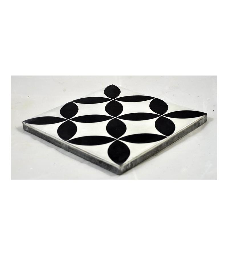 carreau de ciment noir et blanc maison design. Black Bedroom Furniture Sets. Home Design Ideas