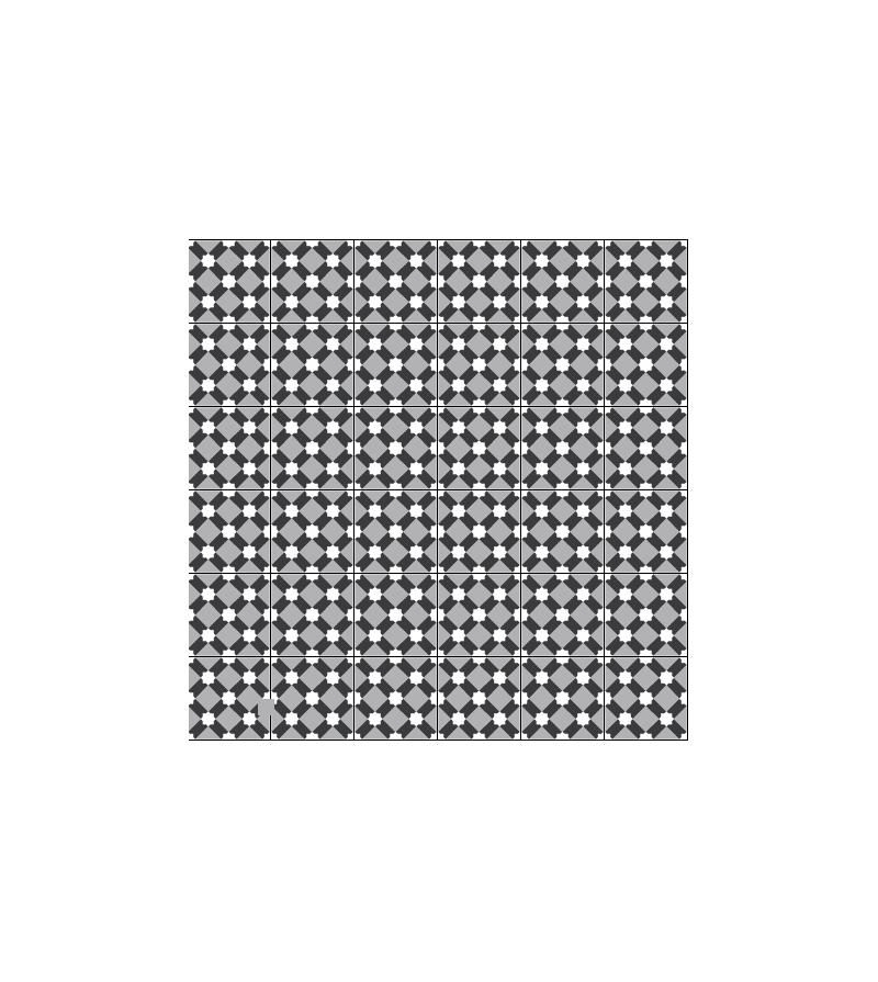 etoile blanche tradicim l carreaux ciment de qualit petit prix. Black Bedroom Furniture Sets. Home Design Ideas