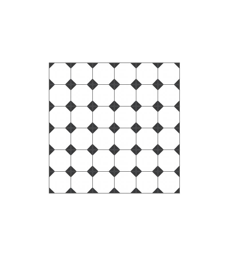 OCTOGONE DE CM BLANC Tradicim L Carreaux Ciment De Qualité - Belle carrelage octogonal